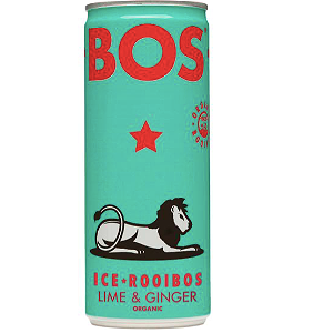 Foto Bos Ice Tea - Lime Ginger